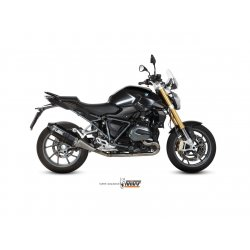 Silencieux MIVV SPEED EDGE BMW R1200 R 15-17 (Steel Black)