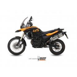 Silencieux MIVV SPEED EDGE BMW F650 GS 08-14 / F800 GS 08-17 (Inox)