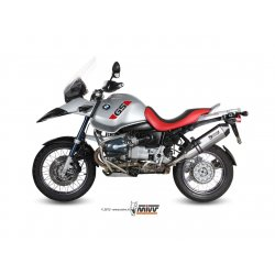 Silencieux MIVV SPEED EDGE BMW R1150 GS 99-03 (Steel Black)