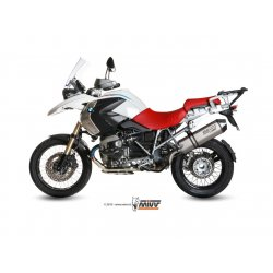 Silencieux MIVV SPEED EDGE BMW R1200 GS 10-12 (Titane)