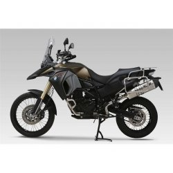 Silencieux YOSHIMURA HEPTA FORCE BMW F700GS - F800GS 13-17 (Inox - Métal magic - Titane)