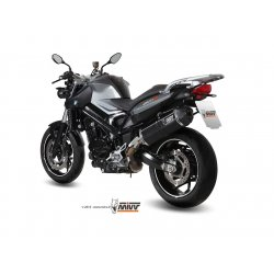 Silencieux MIVV SPEED EDGE BMW F800 R 09-16 (Steel Black)
