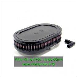 Filtre à air KN - bride 65mm