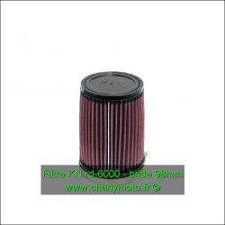 Filtre à air KN - bride 98mm