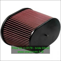Filtre à air KN - bride 94mm