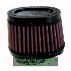 Filtre à air KN - bride 54mm
