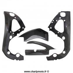 Pack protections de cadre et bras oscillant Carbone SUZUKI GSX-R 1000 09-16