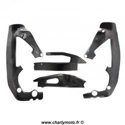 Pack protections de cadre et bras oscillant Carbone HONDA CBR1000RR 04-07