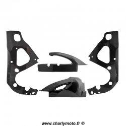 Pack protections de cadre et bras oscillant Carbone SUZUKI GSX-R 600 06-10 / GSX-R 750 06-10