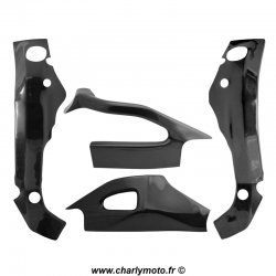 Pack protections de cadre et bras oscillant Carbone SUZUKI GSX-R 1000 05-06