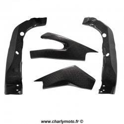 Pack protections de cadre et bras oscillant Carbone YAMAHA YZF-R6 06-16