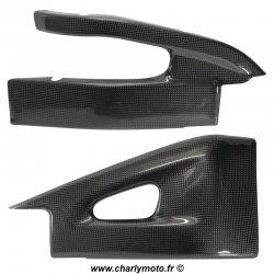 Protections de bras oscillant Carbone HONDA CBR600RR 07-16