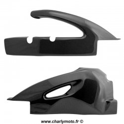 Protections de bras oscillant Carbone SUZUKI GSX-R 600 06-10 / GSX-R 750 06-10