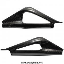 Protections de bras oscillant Carbone TRIUMPH DAYTONA 675 06-12 / 675 R 11-12
