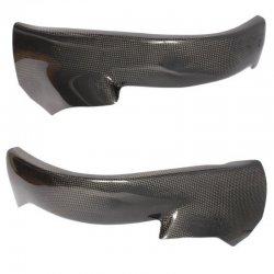 Protections de cadre MOTOFORZA HONDA CBR 1000 RR 04-07 - Pièce haut (Carbone - Carbone/Kevlar - Titanium)