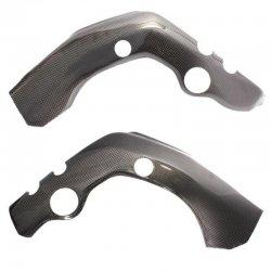 Protections de cadre MOTOFORZA HONDA CBR 1000 RR 04-07 - Pièce basse (Carbone - Carbone/Kevlar - Titanium)