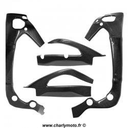 Pack protections de cadre et bras oscillant Carbone SUZUKI GSX-R 1000 17-18