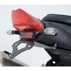 Support de plaque R&G Racing BMW F800 GT 13-14 (sans bagagerie)