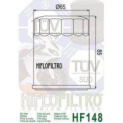 Filtre à huile HIFLOFILTRO HF148 YAMAHA FJR 1300 01-12 / HONDA MARINE / MERCURY MARINE / TGB
