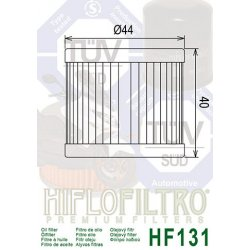 Filtre à huile HIFLOFILTRO HF131 HYOSUNG GT125 03-15 / SUZUKI DR125 SM 07-09 / SUZUKI GSX-R 125 17-18 / SUZUKI GSX-S 125 17-18