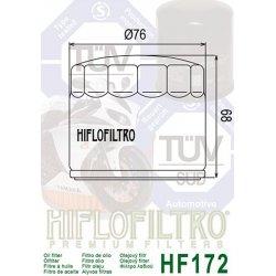 Filtre à huile HIFLOFILTRO HF172C HARLEY-DAVIDSON (Chrome)