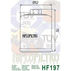 Filtre à huile HIFLOFILTRO HF197 AEON / BENELLI / HYOSUNG / KEEWAY / PGO / POLARIS