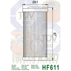 Filtre à huile HIFLOFILTRO HF611 BMW / HUSQVARNA / SHERCO