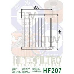 Filtre à huile HIFLOFILTRO HF207 BETAMOTOR / KAWASAKI / LML / SUZUKI