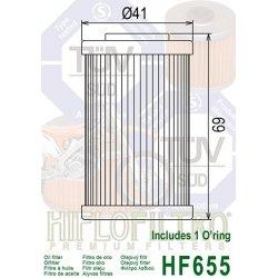 Filtre à huile HIFLOFILTRO HF655 HUSABERG / HUSQVARNA / KTM