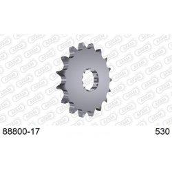 Pignon de sortie de boite AFAM type 88800 / 17-18-19 Dents - Pas 530