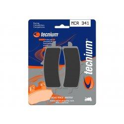 Plaquettes de frein TECNIUM MCR341 MV AGUSTA F4 1000 R - RR - RR CORSACORTA 12-17 / F4 1078 - RR 08-12 (Avant)