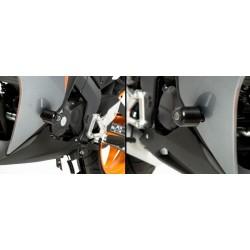 Tampons de protection AERO R&G Racing HONDA CBR125R 11-