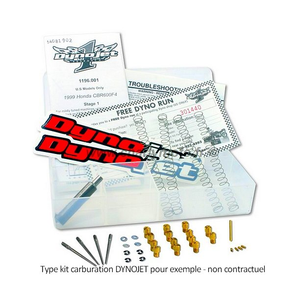 * DESTOCKAGE - Kit carburation Dynojet KAWASAKI GPX 600 R 87-89 (Stage 1)