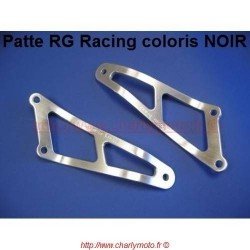 Patte de silencieux R&G RACING APRILIA RSV 1000 98-03 (Noir -01 pot)