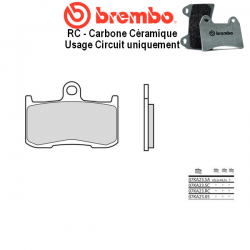 Plaquettes de frein BREMBO 07KA23RC TRIUMPH STREET TRIPLE 675 R 09-17 / STREET TRIPLE 675 RX 15-17 (Avant)