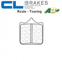 Plaquettes de frein CL BRAKES 1033A3+ APRILIA RSV1000 02-03 / RSV1000 R 01-08 / RSV1000 R FACTORY 04-08 (Avant)