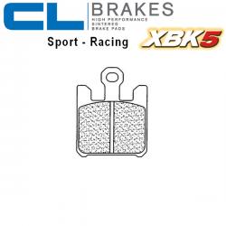 Plaquettes de frein CL BRAKES 1110XBK5 KAWASAKI ZX-6R 03-06 (Avant)