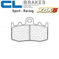 Plaquettes de frein CL BRAKES 1101XBK5 BMW K1200 GT Integral ABS 02-08 / K1200 RS 01-06 / K1200 S 04-08 (Avant)