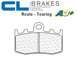 Plaquettes de frein CL BRAKES 1101A3+ BMW K1200 GT Integral ABS 02-08 / K1200 RS 01-06 / K1200 S 04-08 (Avant)
