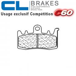 Plaquettes de frein CL BRAKES 1232C60 DUCATI MONSTER 1200 14-17 (Avant)