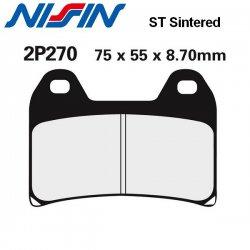 Plaquettes de frein NISSIN 2P270ST KTM 1090 SUPER ADVENTURE - R 17-18 / 1290 SUPER ADVENTURE - R - S - T 15-18 (Avant)