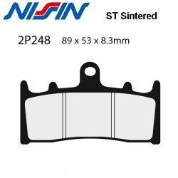 Plaquettes de frein NISSIN 2P248ST SUZUKI GSX-R 1100 93-97 (Avant)