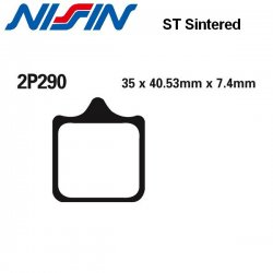 Plaquettes de frein NISSIN 2P290ST KTM 690 DUKE - SM - SMC - SUPERMOTO - R 07-11 (Avant)