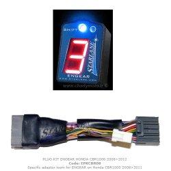 Indicateur de rapport ENGEAR STARLANE + faisceau HONDA CBR 1000 RR 08-16