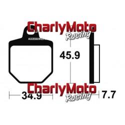 Plaquettes de frein Bendix MOR343 Metal Fritte