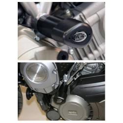 Tampons de protection AERO R&G Racing APRILIA MANA 850 07-15