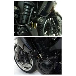 Tampons de protection AERO R&G Racing KAWASAKI Z1000 10-16