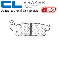 Plaquettes de frein CL BRAKES 2256C60 SUZUKI GSX-S 750 17-19 (Avant)