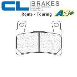 Plaquettes de frein CL BRAKES 2711A3+ HONDA VTR 1000 SP1 - SP2 00-06 (Avant)
