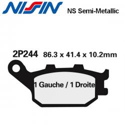 Plaquettes de frein NISSIN 2P244NS HONDA CBF1000 06-11 (Arrière)